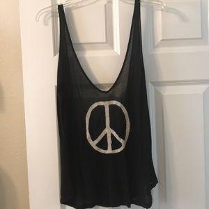 Brandy Melville Peace Tank
